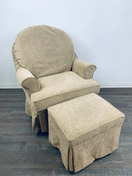 used Dutailier Glider And Ottoman