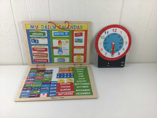 used Melissa & Doug My First Daily Magnetic Calendar