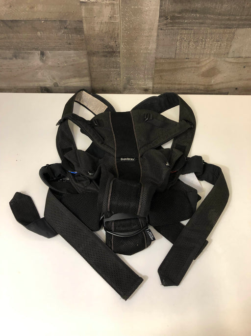 Baby Bjorn Baby Carrier, Black Mesh