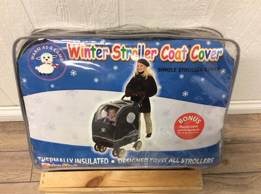 used Warm-As-A-Lamb Winter Stroller Cover