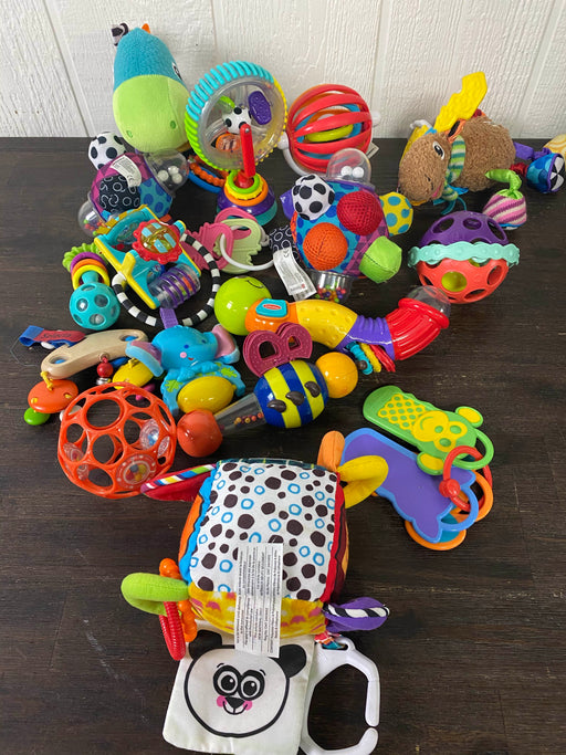 used BUNDLE Grasping Toys