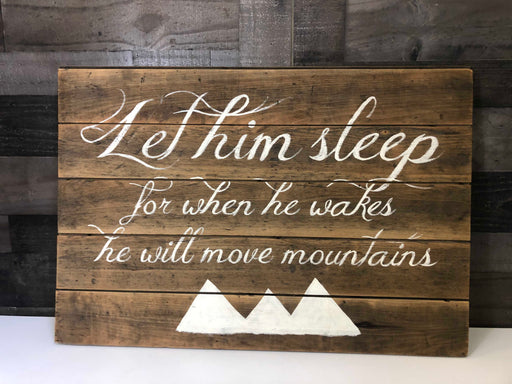 Mountain Sign