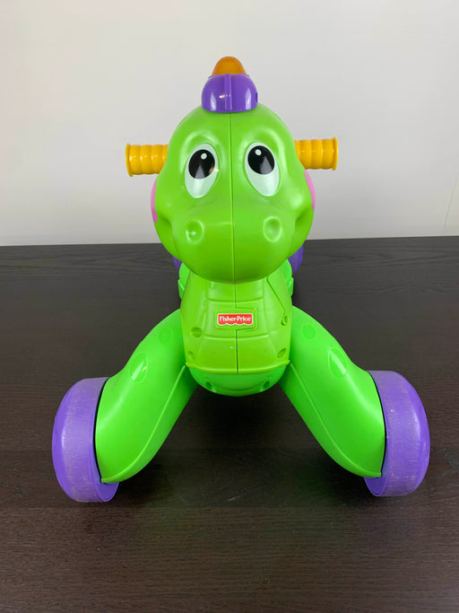 used Fisher Price Go Baby Go! Stride To Ride Dino