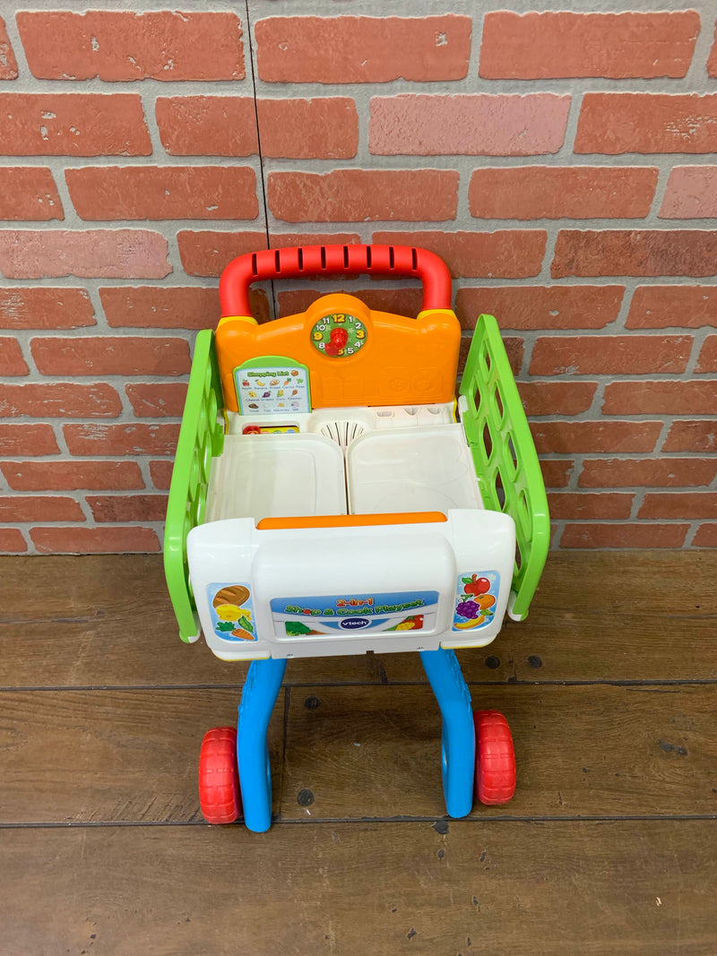 secondhand VTech 2 in 1 Shop and Cook Playset
