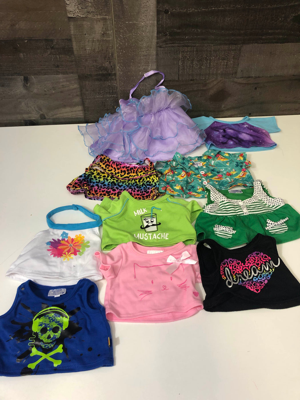 used Build A Bear Clothing And Accessories Bundle