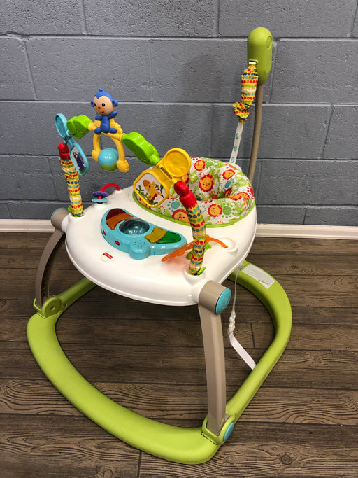 Fisher Price Jumperoo Activity Center Spacesaver, Rainforest Friends