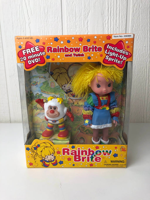 used Toy play Rainbow Brite And twink