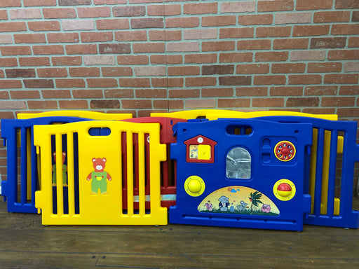 Baby Playpen Kid's 8-Panel Safety Play Center