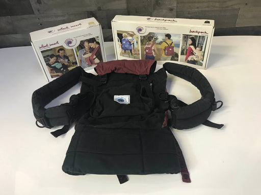 Ergobaby Original Baby Carrier With Infant Insert And Matching Backpack