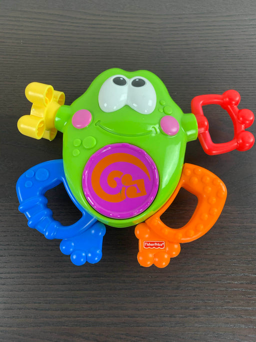 used Fisher Price Go Baby Go Silly Sounds Frog