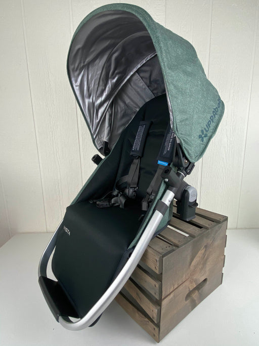 secondhand UPPAbaby VISTA RumbleSeat, 2015+, Emmett (Green Melange), 2019