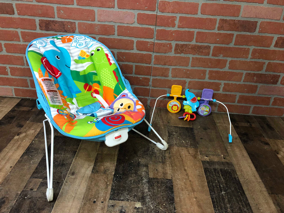 Fisher Price Baby Bouncer- Animal Kingdom