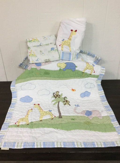used Pottery Barn Kids Baby Bedding Set