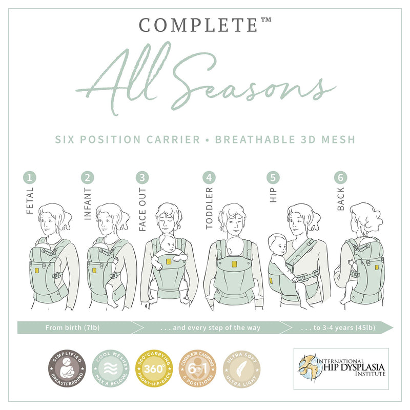 Lillebaby Complete All Seasons Mesh Baby Carrier