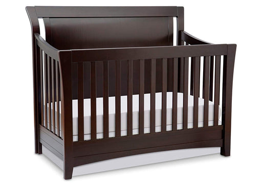 Simmons Kids Adele Lifetime 4-in-1 Crib with Toddler and Daybed Conversion Rails