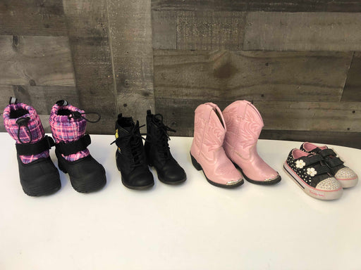 BUNDLE Girls Shoes, Toddler 6-8