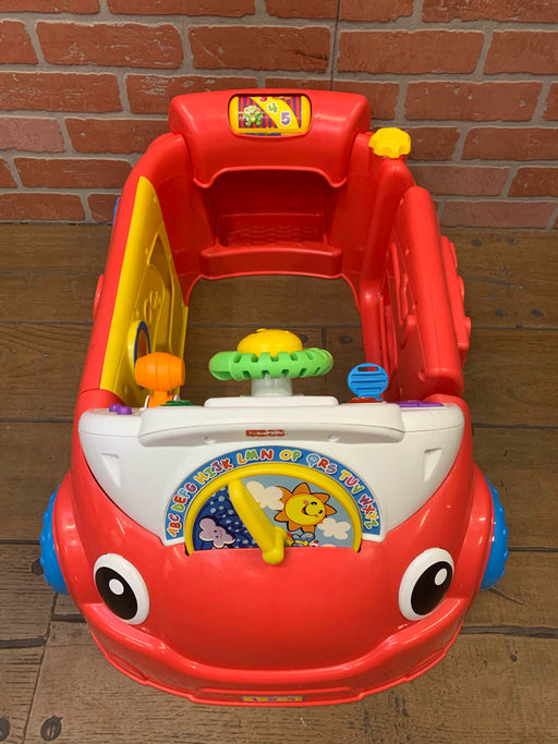 used Fisher Price Laugh And Learn Crawl Around Car