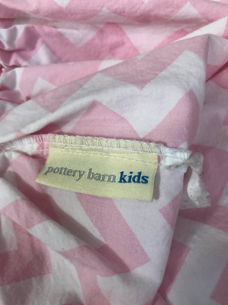 Pottery Barn Kids Fitted Crib Sheet
