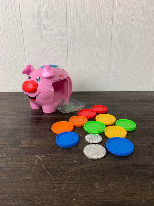 used Fisher Price Laugh And Learn Smart Stages Piggy Bank