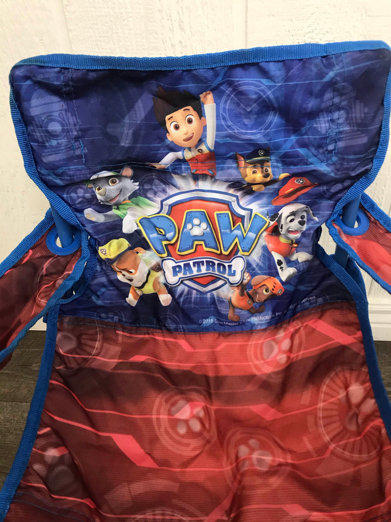 secondhand Paw Patrol Fold 'n Go Patio Chair