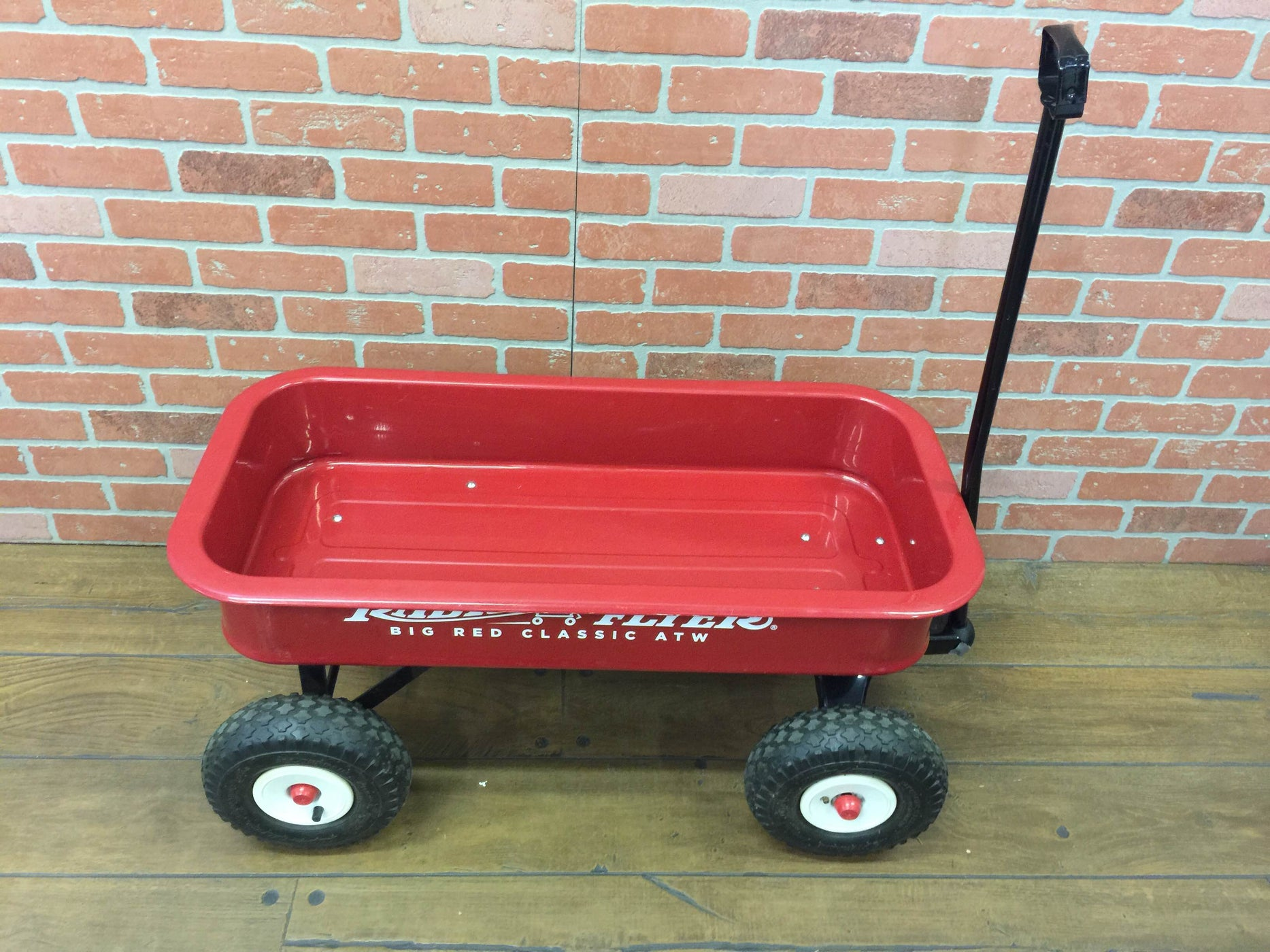 secondhand Radio Flyer Classic Red Wagon Plus Umbrella