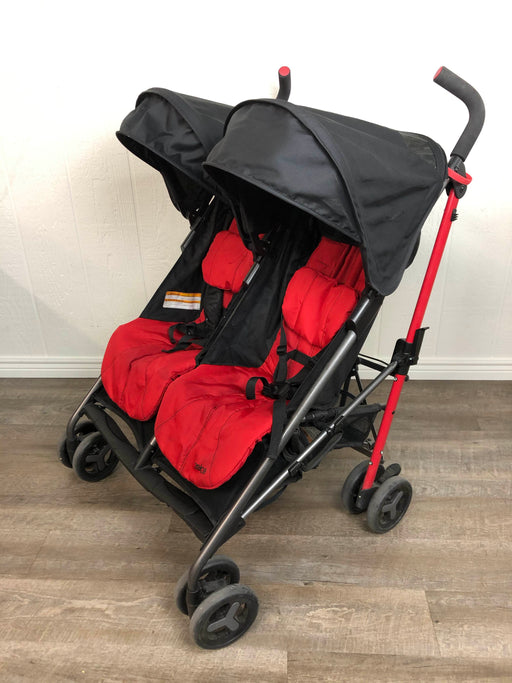 used Zobo Double Travel Stroller
