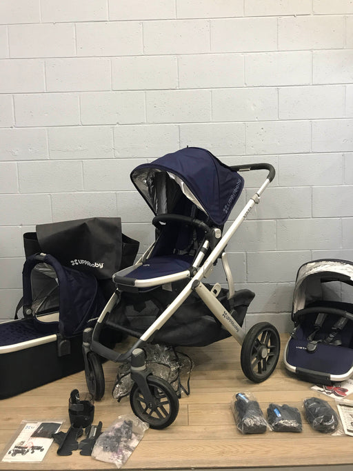 Uppababy Vista Double Stroller & Rumble Seat