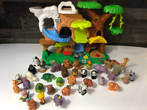 Fisher Price Little People Zoo Talkers Animal Sounds Zoo