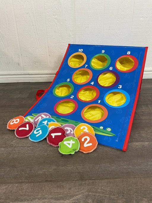 used Learning Resources Bean Bag Tossing Game
