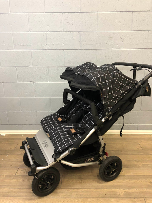 Mountain Buggy Duet V3 Double Stroller, 2018, Grid