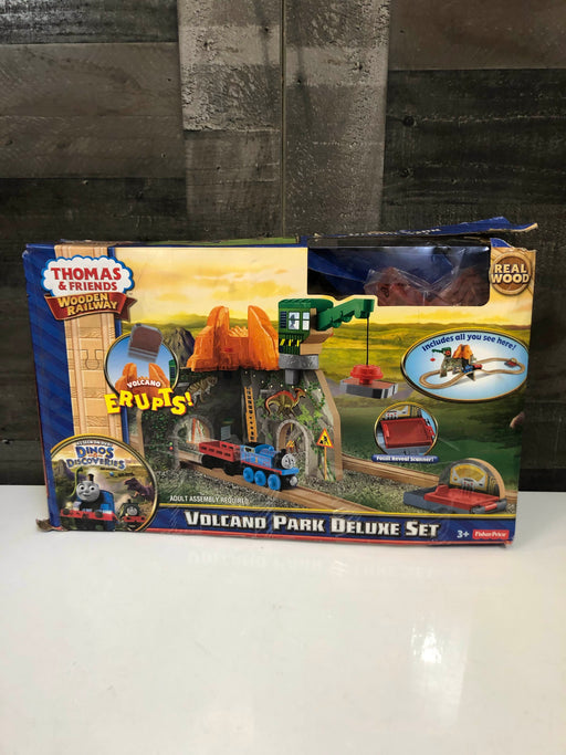 Fisher Price Thomas And Friends Volcano Park Deluxe Set