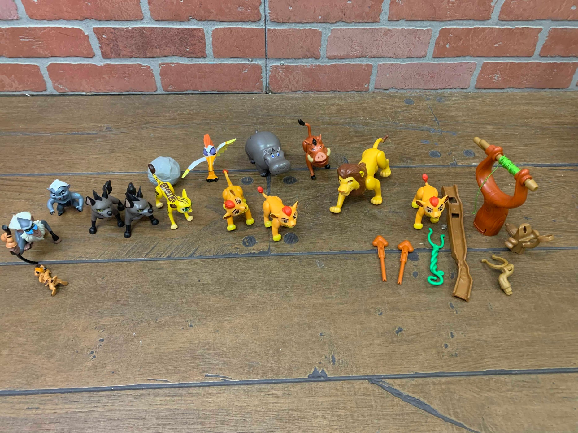 secondhand Disney Lion Guard Defend the Pride Lands Playset