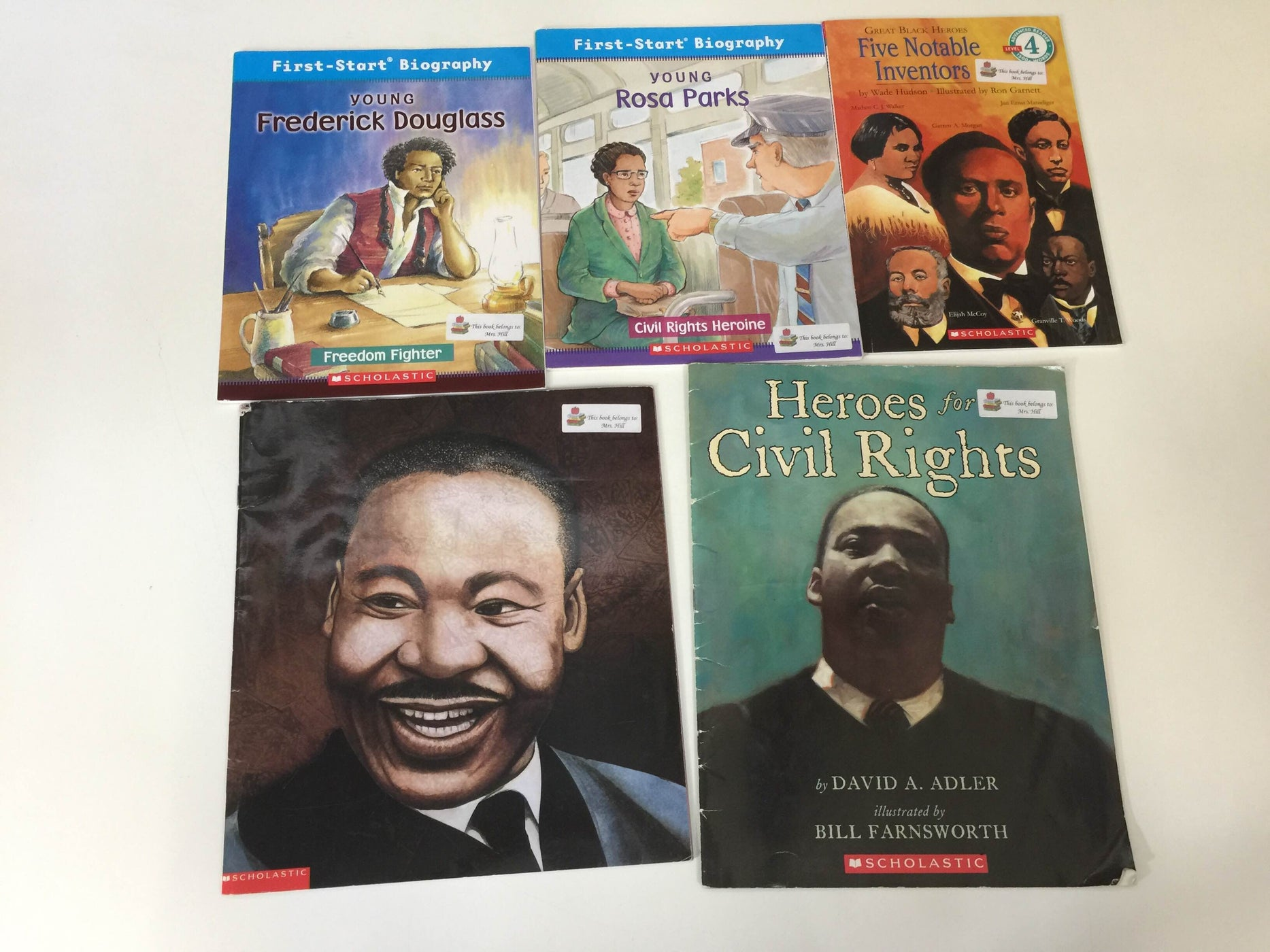 BUNDLE Books About Historical Figures