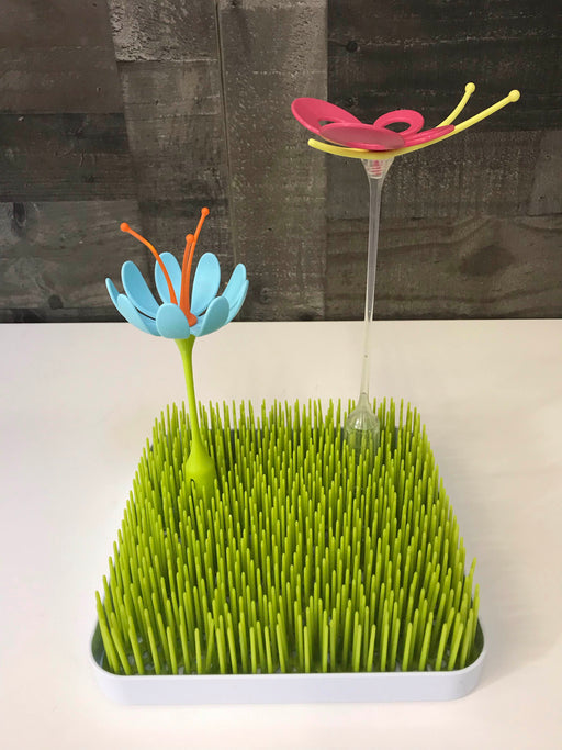 Boon Grass Countertop Drying Rack with Accessories