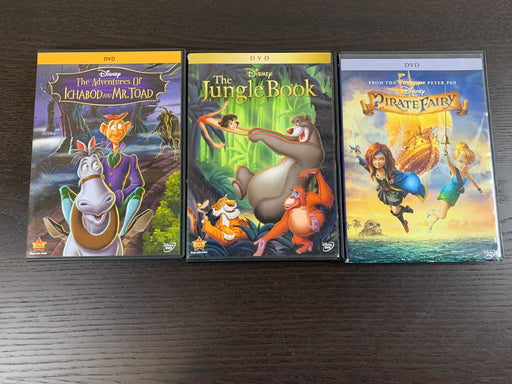 used BUNDLE Children's DVDs