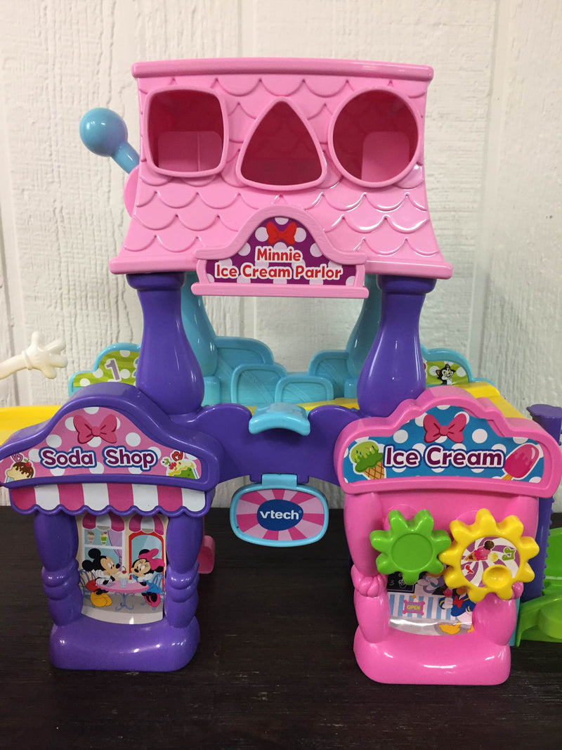 secondhand VTech Go! Go! Smart Wheels Disney Minnie Mouse Ice Cream Parlor