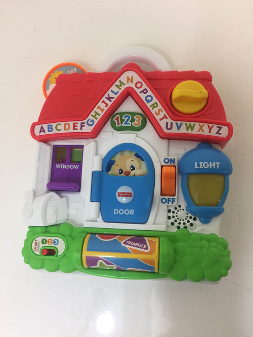 used Fisher Price Laugh and Learn Puppy's Busy Activity Home