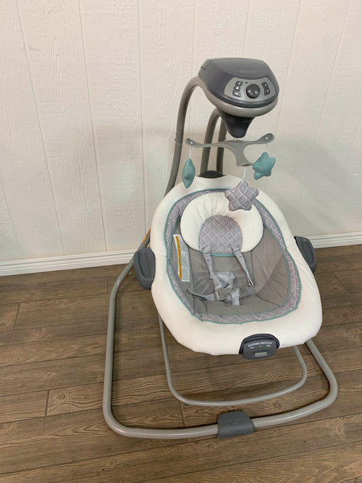 used Graco DuetConnect Swing & Bouncer