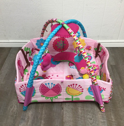used Bright Starts Activity Gym, Charming Chirps