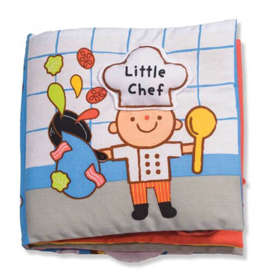 used Melissa & Doug Soft Activity Book- Little Chef
