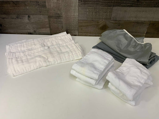 used BUNDLE Cloth Diaper Inserts