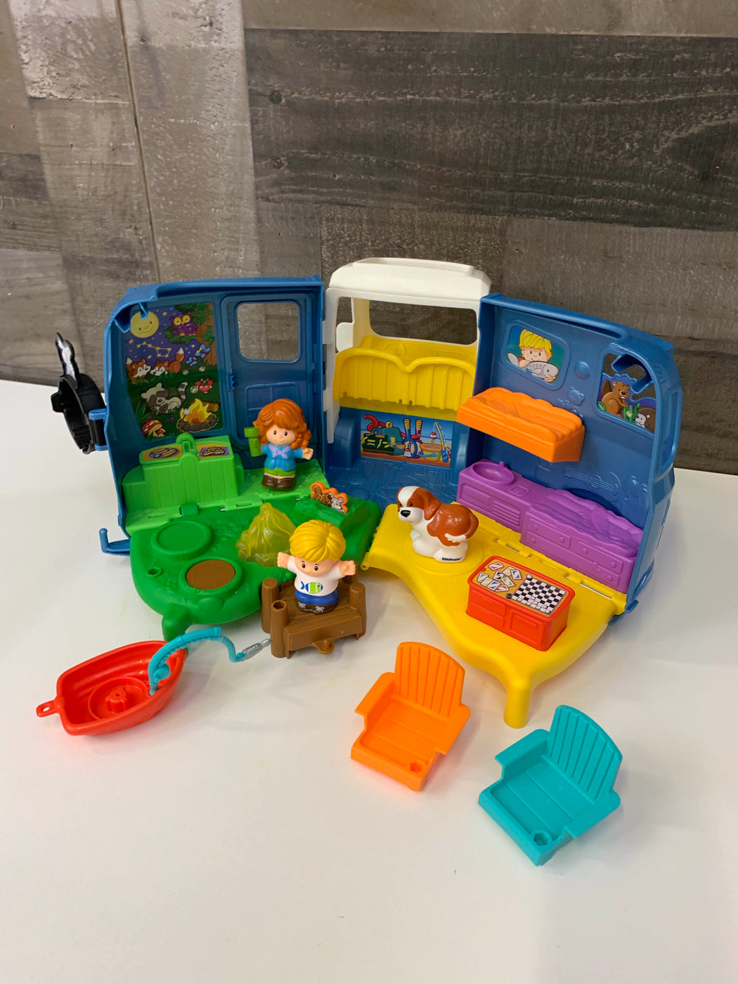 secondhand Fisher Price Little People Sets