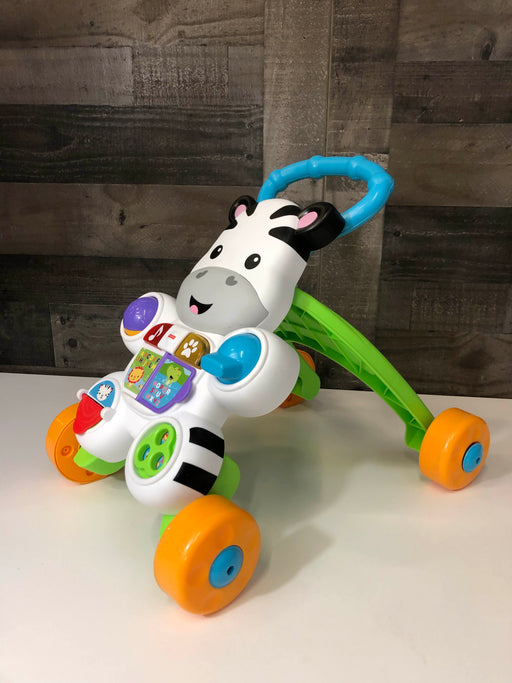 used Fisher Price Learn With Me Zebra Walker