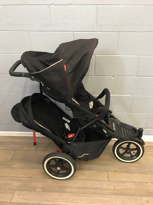 Phil & Ted's Sport Double Stroller With Lots Of Extras, 2012