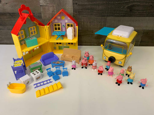 used Peppa Pig Deluxe House Playset