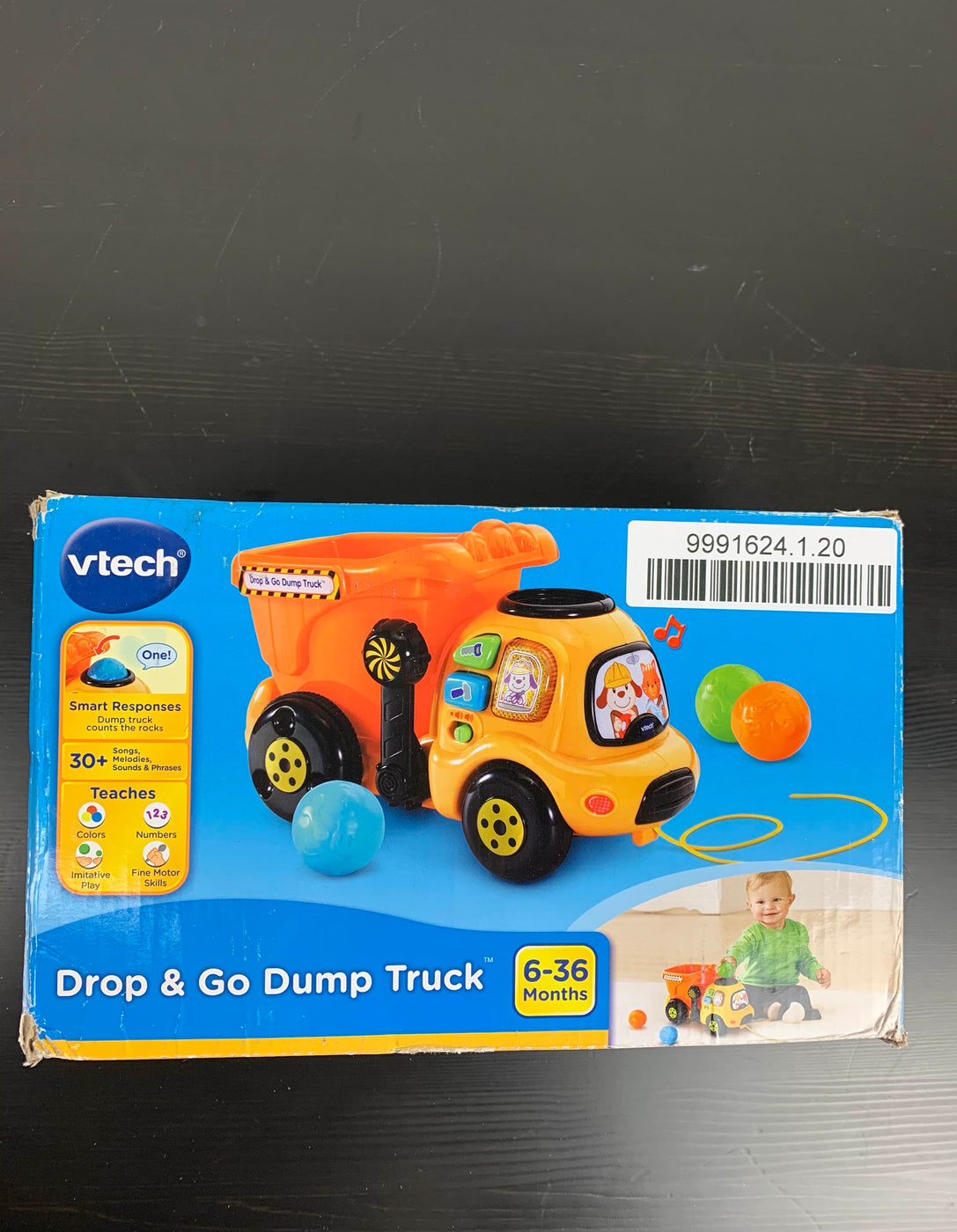 secondhand VTech VTech Drop And Go Dump Truck