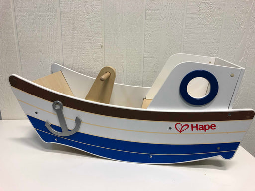 used Hape Wooden Boat