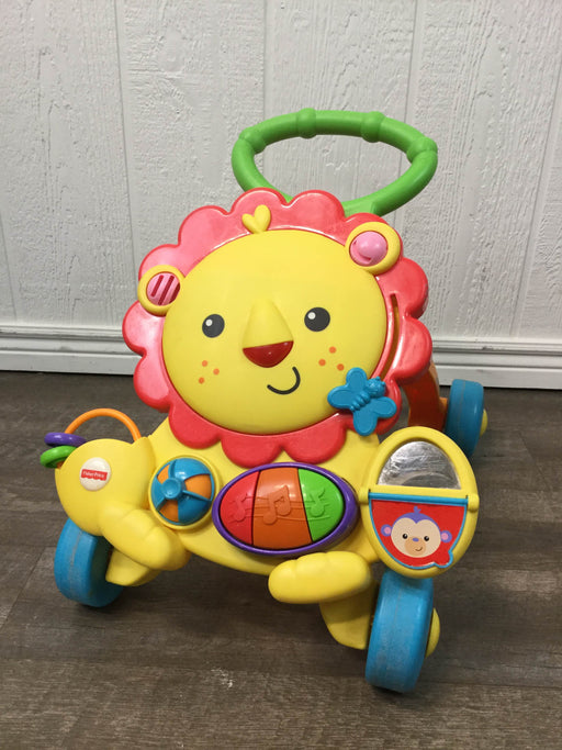 used Fisher Price Musical Lion Walker