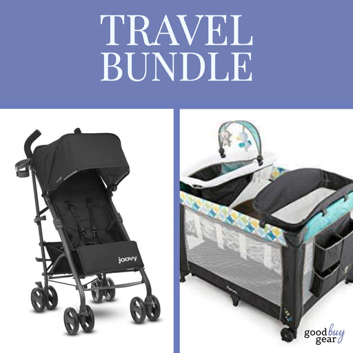 The Perfect Travel Bundle: Ultralight Groove Stroller and Ingenuity Playard!