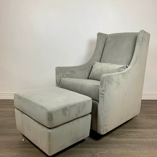 used West Elm Graham Glider with Ottoman